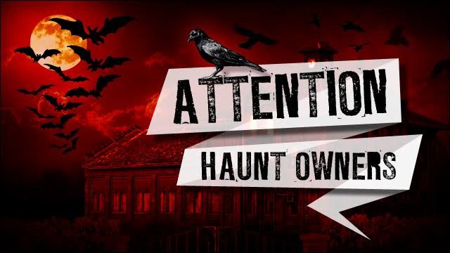 Attention Connecticut Haunt Owners